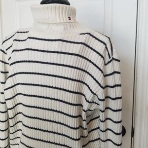 Tommy Hilfiger ribbed turtleneck stripe jr. XL